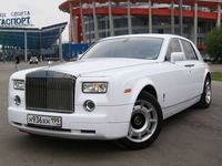 Седан Rolls Royce Phantom Белый