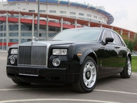 Седан Rolls Royce Phantom Черный