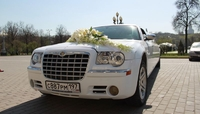 Лимузин Chrysler 300C Белый 11 мест