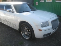 Лимузин Chrysler 300C Белый 12 мест
