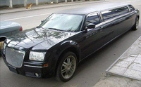 Лимузин Chrysler 300C Черный 10 мест