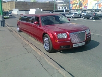 Лимузин Chrysler 300C Красный 11 мест